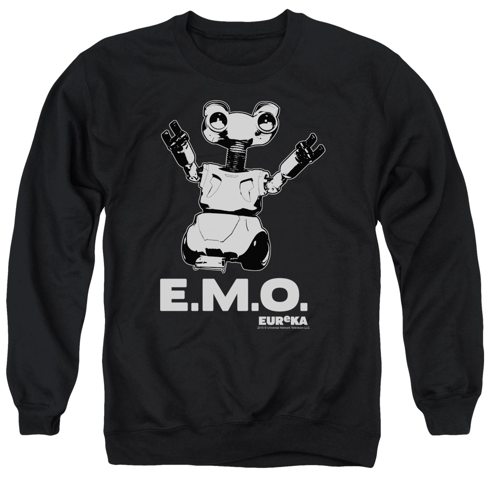 Eureka Science Fiction Comedy Drama TV Series SyFy Emo Adult Crewneck Sweatshirt