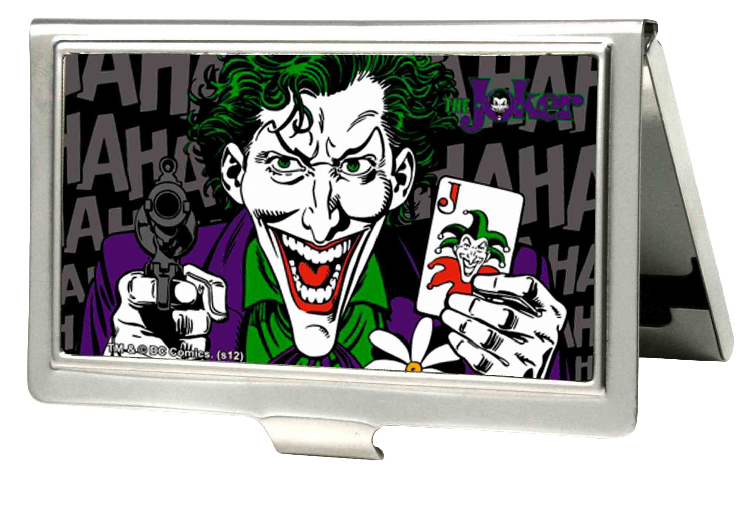Joker DC Comics Supervillain His Card Large Business Card Holder | eBay