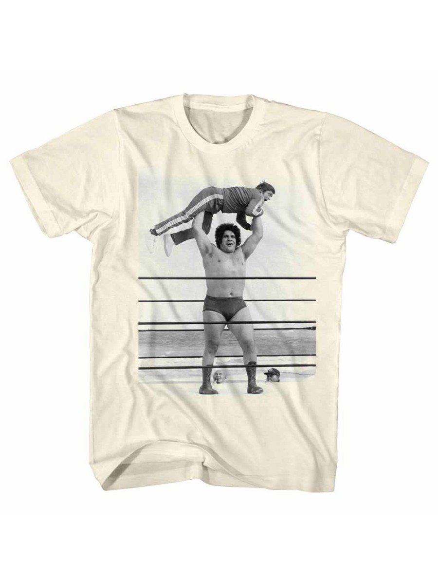 ec92fa3f Andre The Giant WWE Eighth Wonder Of The World Lightweight Adult T-Shirt Tee