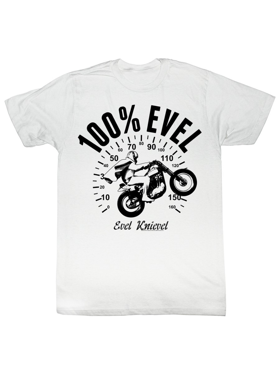 T-SHIRT MOTORCYCLE FREE POST /& PACKAGING !!!! HARLEY EVEL KNIEVEL