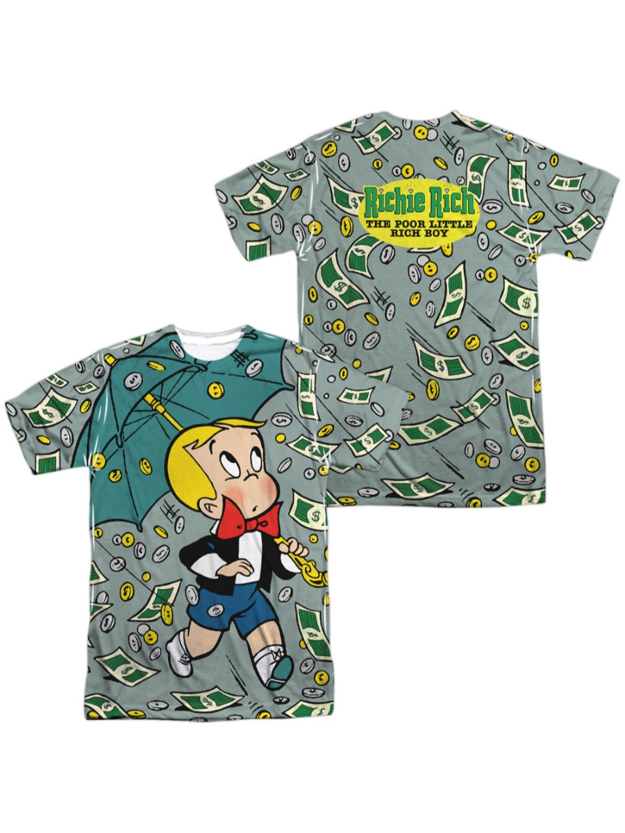 Richie Rich STACKED Logo Licensed Vintage Style Tank Top All Sizes