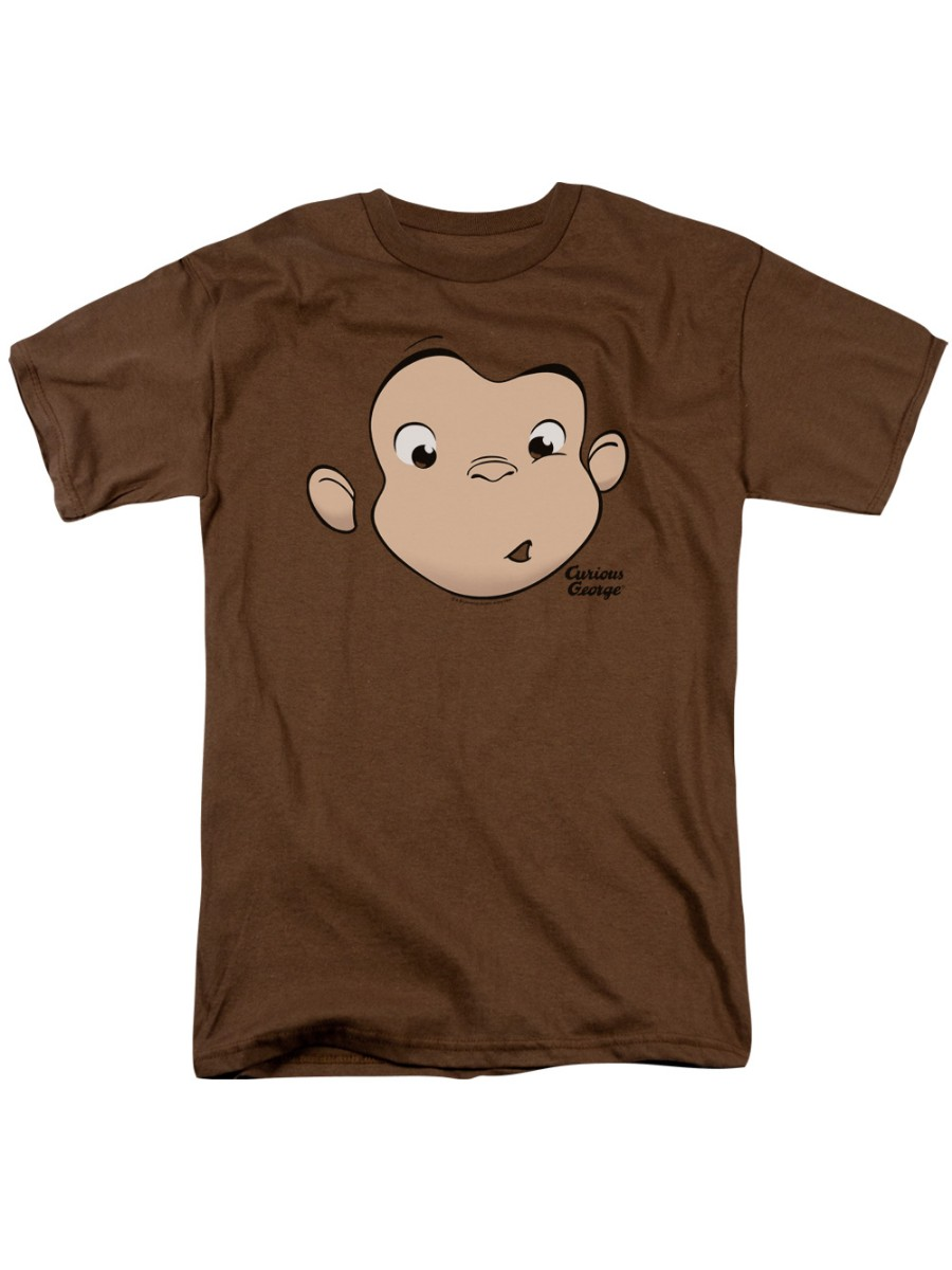 Curious George Monkey Childrens Book Hangin Out Little Boys T-Shirt Tee